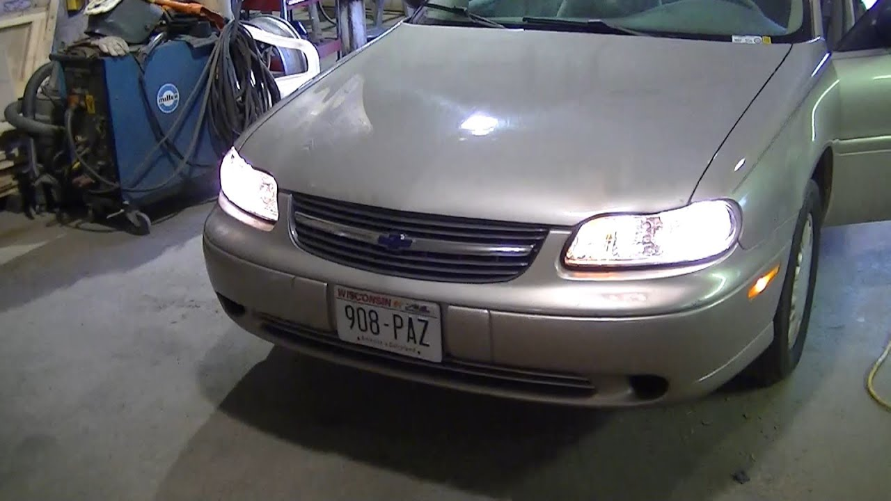 2000 Chevy Malibu Headlight Turn Signal Problem Part 2 Of