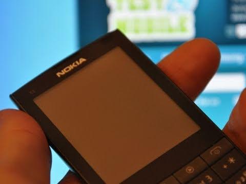 Test du Nokia X3-02 Touch and Type - par Test-Mobile.fr