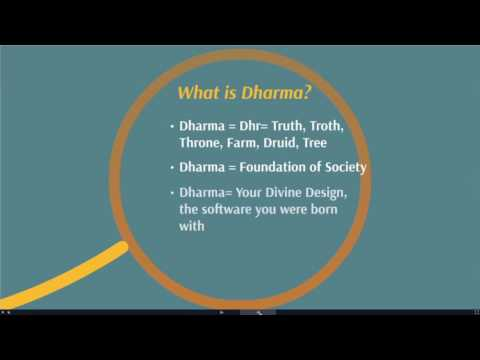 Dharma Type Certification Class 1 Introduction