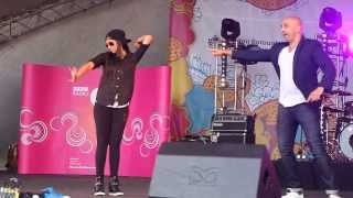 SUPERWOMAN doing Bhangra