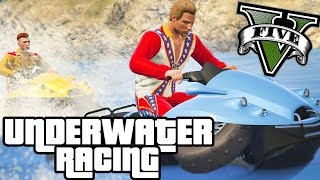 CRAZY NEW UNDERWATER CAR RACES!! - GTA V FUNNY MOMENTS!! #2