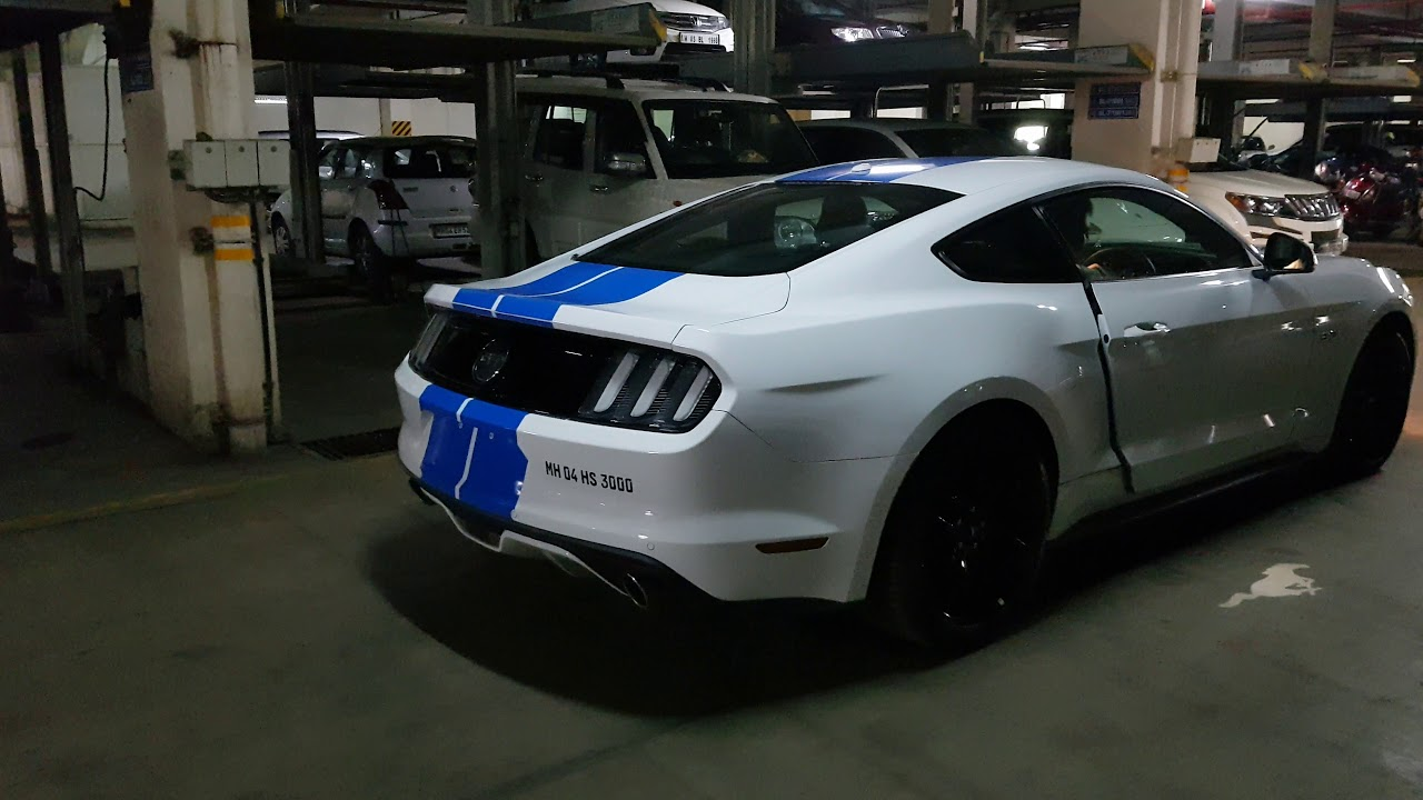 Ford Mustang Gt India Crazy Sound