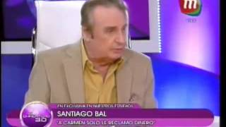 Santiago Bal habló de su feroz enfrentamiento con Carmen Barbieri y su relación con Federico
