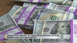 Millions of dollars in state capital outlay funds remain outstanding