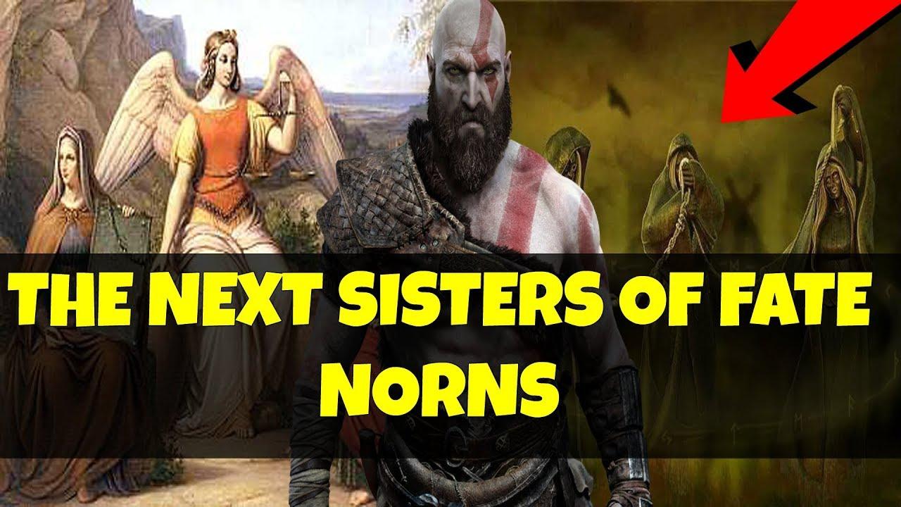 god of war 4 norns breakdown theory boss u0026 enemy types next