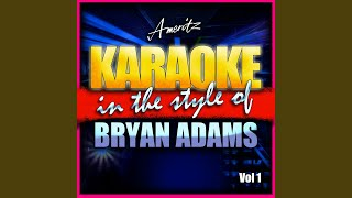 Is Your Mama Gonna Miss Ya (In the Style of Bryan Adams) (Karaoke Version)