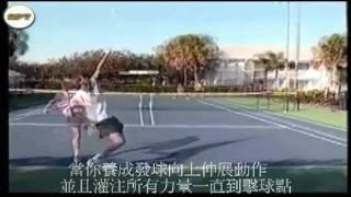 Tennis serving technique (網球發球技巧)