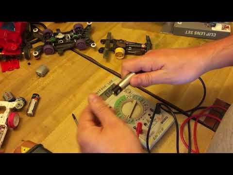 Mini4wd Stock Motor Rpm Test