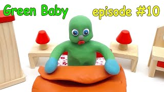 Green Baby -In- NEW BORN BROTHER CARE - Stop Motion Cartoons For Kids #10