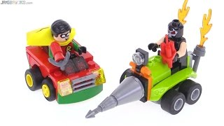 LEGO Mighty Micros Robin vs Bane review! 76062