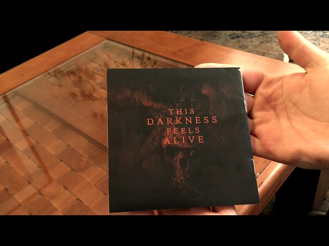 OVERTOUN - This Darkness Feels Alive Deluxe Digipak CD Unboxing