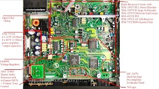 Repeat youtube video Car Stereo Teardown, Analysis and Hack  - Blaupunkt Car 300