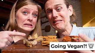 Going VEGAN for a day in Brighton UK