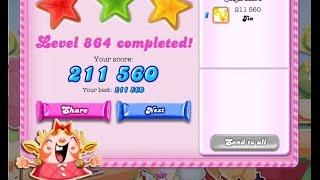 Candy Crush Saga Level 864     ★★★   NO BOOSTER