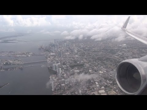 HD American Airlines 757-200 Takeoff From Miami