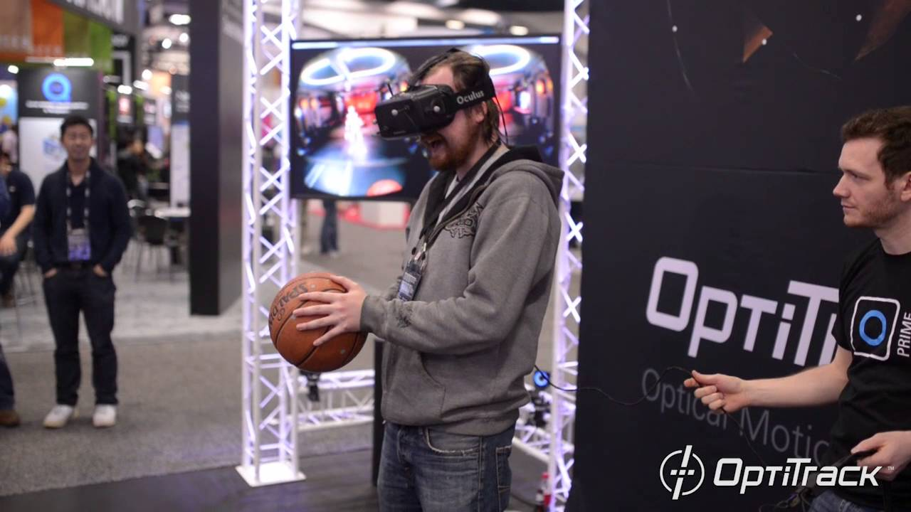 OptiTrack @ GDC 2016 - Real Basketball in Virtual Reality