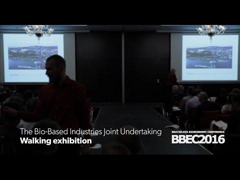 BBI JU Walking exhibition | Bratislava Bioeconomy Conference 2016