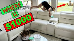 Find $1000 HIDDEN In Our HOUSE!!!