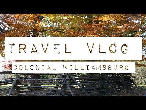 Dreamy Travel Vlog: Colonial Williamsburg (Virginia)