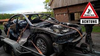 Mitsubishi Galant V6 abholen   Dumm Tüch