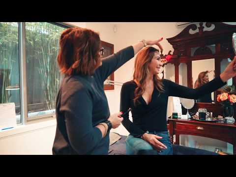 s1episode3 Rosanna Faraci interviews Kim from Luxbrows and lashes