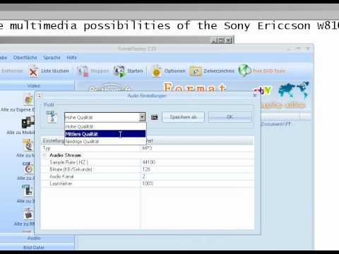 Sony Ericsson [W810i] Media guide - Watch movie videos and more - Tutorial