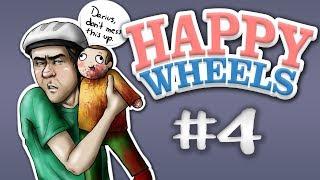 I DEFEAT PEWDIEPIE   Happy Wheels Funny Moments #4