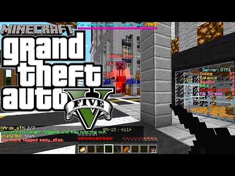 Minecraft Server GTAMC.NET Part 1 เกมมายคราฟในรูปแบบ GTA