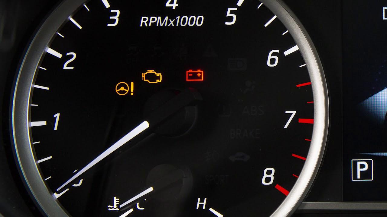 2018 Nissan Sentra Warning And Indicator Lights