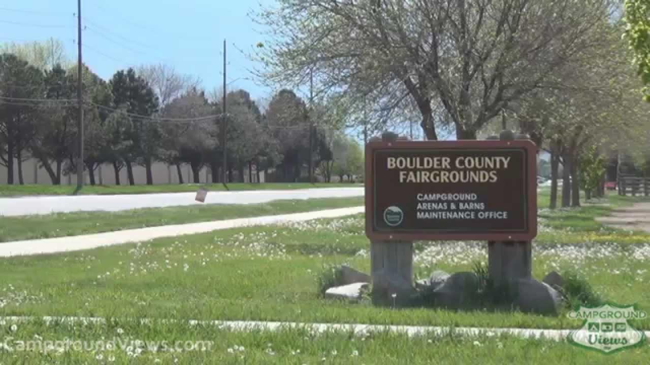 Campgroundviews Com Boulder County Fairgrounds Longmont