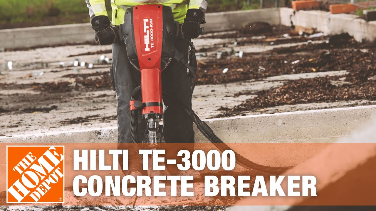 Rent the hilti te 3000 concrete breaker youtube - Renter s wallpaper home depot ...
