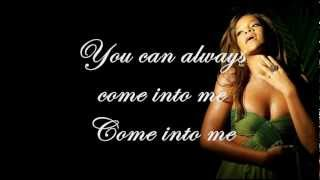 Umbrella - Rihanna (Piano Instrumental) + Lyrics on screen
