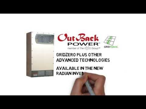Introducing GridZero Technology from OutBack Power