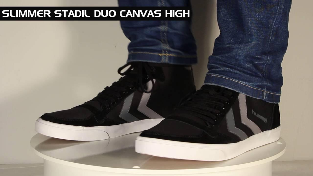 Hummel Slimmer Stadil Duo Canvas High Saison 201617