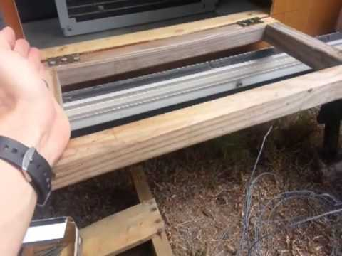 Installing Wall Window Ac In Camper Youtube
