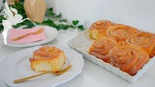 Zimtschnecken - Cinnamonrolls selber machen - Cinnamon Rolls Rezept - Kuchenfee CC