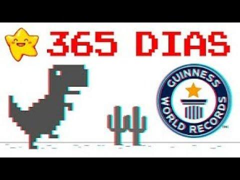 Directo T-Rex Google dinosaurio (1.000.000.000.000)