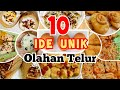 10 IDE UNIK OLAHAN TELUR - SEDERHANA DAN MENARIK