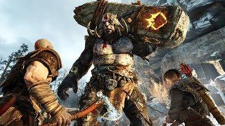 WORLD'S TALLEST MOUNTAIN!! (God of War 4)