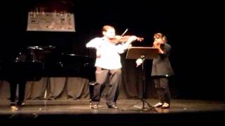 Duo para dois  violinos de  Gebauer
