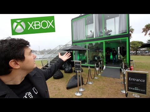 THE XBOX HOTEL - Tour of the Xbox Stay N' Play!