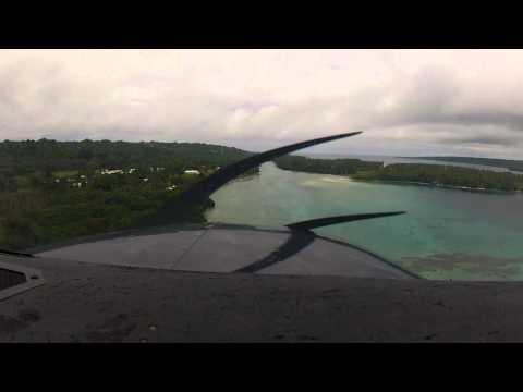 Flying - Cessna 206 Port-Vila to Ratua Private Island - Vanuatu
