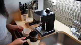 Using Mr Coffee Steam Espresso & Cappuccino Maker