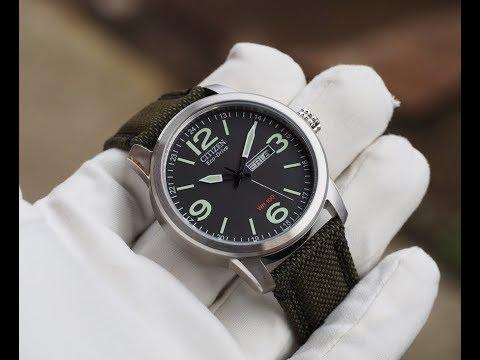 Часы-повседневники, на примере CITIZEN Eco-Drive BM84-70-11E
