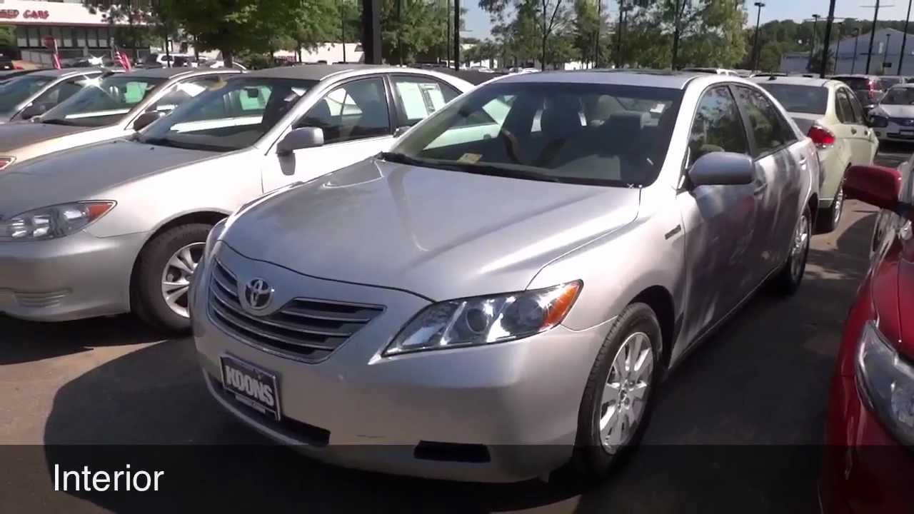 2009 Toyota Camry Hybrid Review You