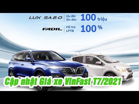 Cập nhật bảng giá xe VinFast tháng 7/2021 mới nhất - Liên hệ để có giá tốt nhất   Thành Auto