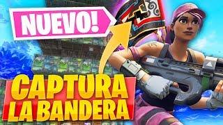 JUGANDO A CAPTURAR LA BANDERA EN EL NUEVO *PATIO DE JUEGOS* de FORTNITE: Battle Royale! - Roier