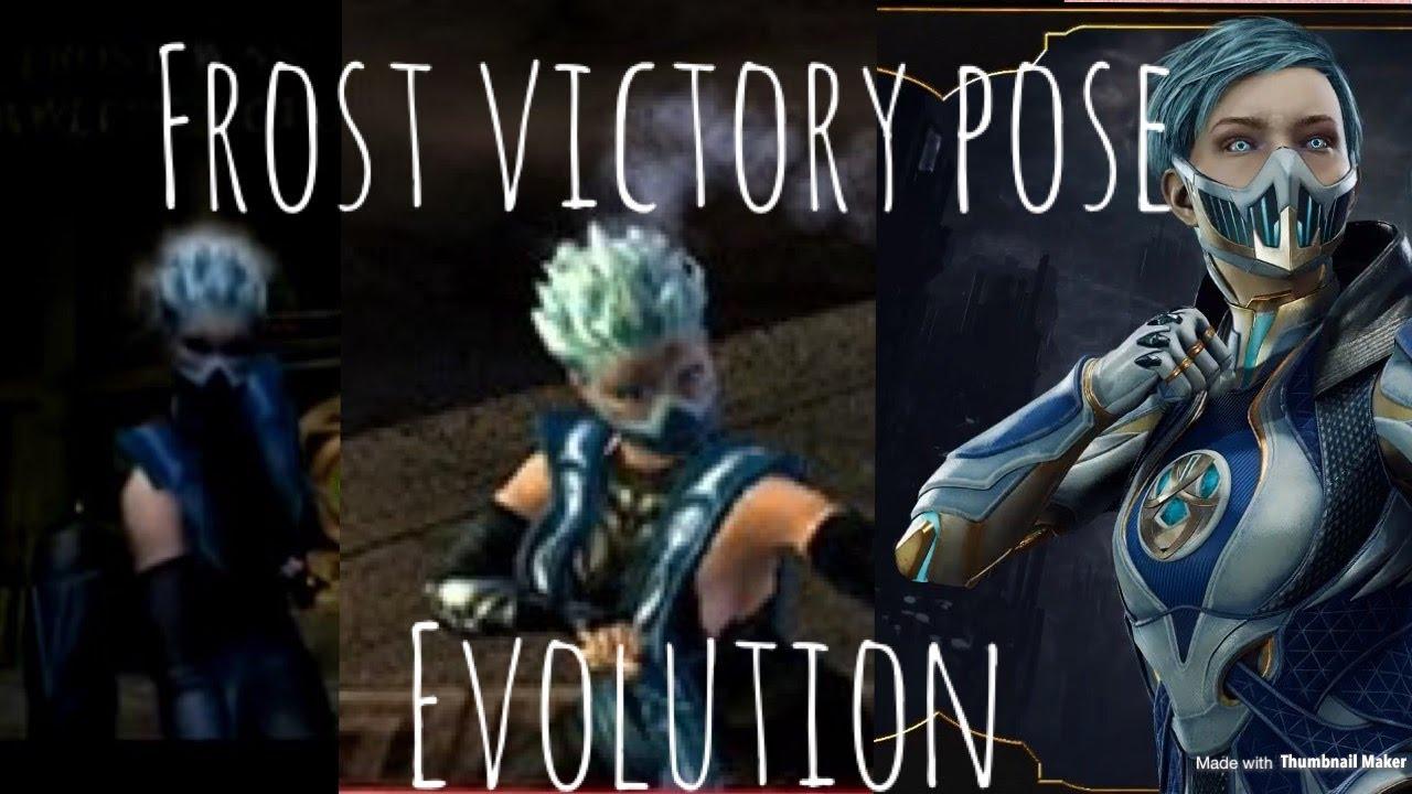 Frost victory pose evolution mk deadly alliance-mk11