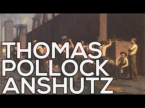 Thomas Pollock Anshutz : A collection of 99 paintings (HD)