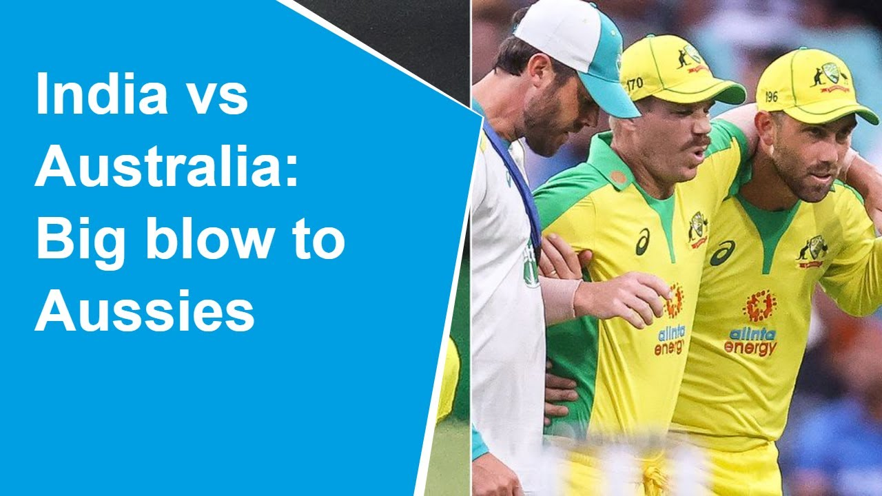 Australia vs India: Injured Warner to miss remaining limited overs ...